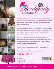 IID Shady LAdy Lampshades